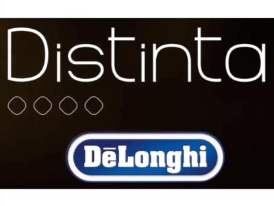 DISTINTA: il nome della collezione breakfast De'Longhi che si fa notare
