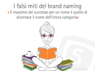 """I falsi miti del Brand Naming: """" Il massimo del successo per un nome è quello di diventare il nome dell'intera categoria """""""